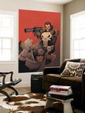 Punisher Vs Bullseye No3 Cover: Punisher and Bullseye