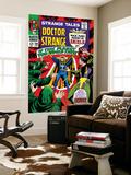 Strange Tales No160 Cover: Dr Strange and Baron Mordo