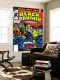 Black Panther No1 Cover: Black Panther  Little  Abner and Princess Zanda Fighting