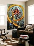 Secret Invasion: Inhumans No2 Cover: Medusa and Crystal Fighting