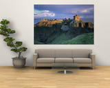Castle  Stonehaven  Grampian  Aberdeen  Scotland