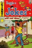 Archie Comics Retro: Reggie's Jokes Comic Book Cover No7 (Aged)