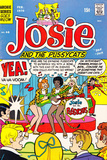 Archie Comics Retro: Josie and The Pussycats Comic Book Cover 46 (Aged)