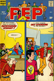 Archie Comics Retro: Pep Comic Book Cover 265 (Aged)