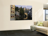 Buildings along a River  Alzette River  Grund District  Luxembourg City  Luxembourg