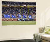 Redskins Lions Football: Detroit  MI - Lions Flags