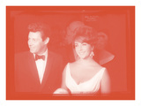 Elizabeth Taylor with Eddie Fisher In Colour