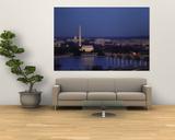 Bridge Over a River  Washington Monument  Washington DC  District of Columbia  USA
