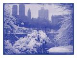 New York City In Winter IX In Colour
