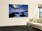 Northern Lights in Skittendalen Valley  Troms County  Norway