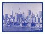 New York City In Winter VI In Colour