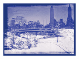 New York City In Winter V In Colour