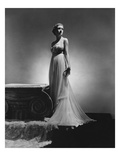 Vogue - February 1936 - Chiffon Gown by Madame Gres