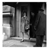WWD - March 1967 - Jackie Kennedy on the Street