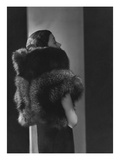 Vogue - October 1933 - Toto Koopman in Fur