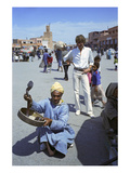 W - April 1972 - Yves Saint Laurent in Marrakech