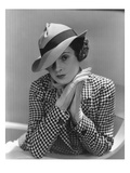 Vogue - March 1935 - Woman in Houndstooth Jacket