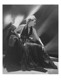 Vogue - February 1948 - Mrs Harrison Williams in Black Evening Gown