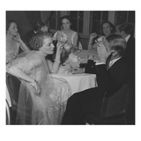 Vogue - February 1936 - Couples Dining at The St Regis