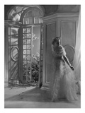 Vogue - June 1935 - Woman by Open French Doors