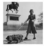 Vogue - October 1935 - Dog Walking in Paris