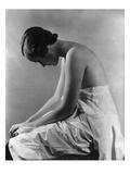 Vogue - August 1934 - Woman Bending Forward