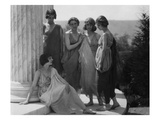 Vanity Fair - August 1920 - Isadora Duncan Group in Grecian Costume