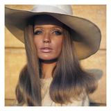 Vogue - April 1969 - Veruschka in Broad-Brimmed Hat