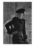 Vogue - September 1935 - Cora Hemmet Modeling Schiaparelli