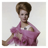 Vogue - July 1962 - Woman with Bouffant Hairdo