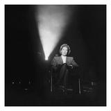 Vogue - July 1944 - Joan Harrison in Screening Room