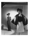 Vogue - October 1944 - Fashions from Bergdorf Goodman