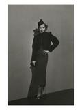 Vogue - December 1936 - Princess Nathalie Paley in Lelong Dress