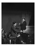 Vogue - May 1945 - Leon Fleisher Playing with Pierre Monteux
