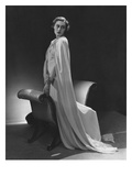 Vogue - December 1934 - Murial Williams in Flowing White Cape