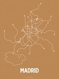 Madrid (Orange & Pearl White)