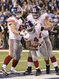 New York Giants and New England Patriots - Super Bowl XLVI - February 5  2012: Ahmad Bradshaw
