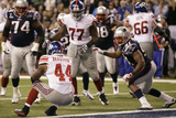 New York Giants and New England Patriots - Super Bowl XLVI - February 5  2012: Ahmad Bradshaw