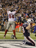 New York Giants and New England Patriots - Super Bowl XLVI - February 5  2012: Mathias Kiwanuka