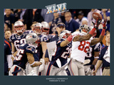 New York Giants and New England Patriots - Super Bowl XLVI - February 5  2012: Mario Manningham - C