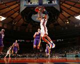 New York Knicks v Los Angeles Lakers  New York  NY  Feb 10: Tyson Chandler  Josh McRoberts