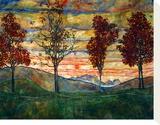 Four Trees  1917