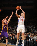 New York Knicks v Los Angeles Lakers  New York  NY  Feb 10: Steve Novak  Troy Murphy