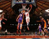 New York Knicks v Los Angeles Lakers  New York  NY  Feb 10: Jeremy Lin  Pau Gasol