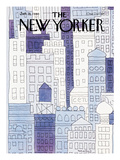 The New Yorker Cover - January 28  1980
