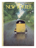 The New Yorker Cover - January 10  1959