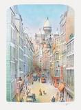 Paris  rue à Montmartre