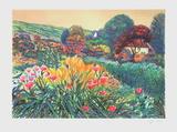 Giverny  dans le jardin de Monet