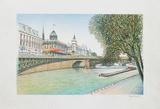 Paris  la Seine et la Conciergerie