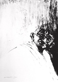 Portrait de Gandhi